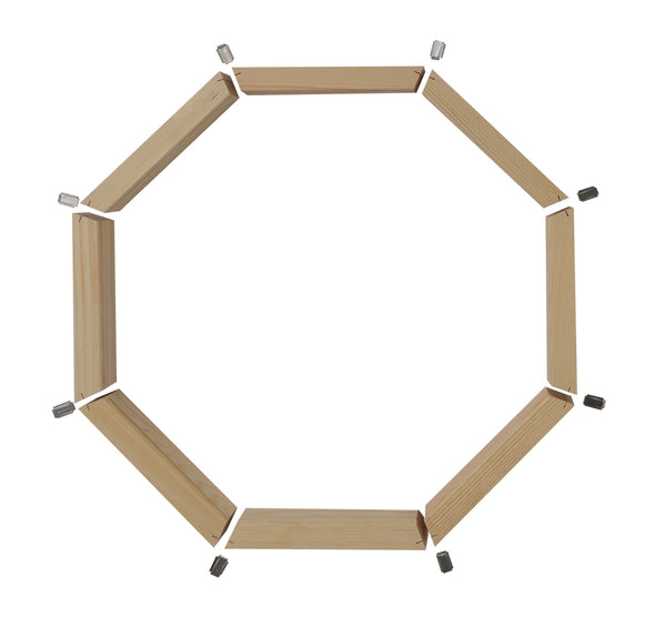 Wood octagon window accessories jamb extension