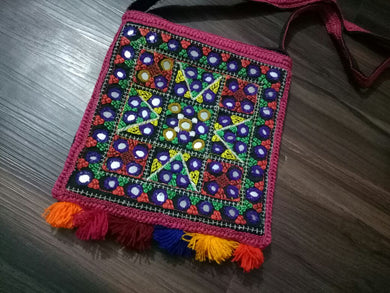 Traditional Purse or Hand Bag Hand Embroidered