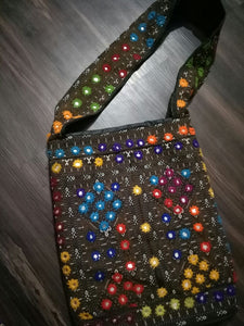 Traditional Purse or Hand Bad Hand Embroidered