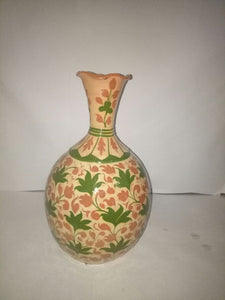Hand Crafted Vase with Intricate Designs