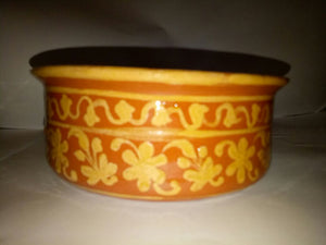 Hand Crafted Bowl with Intricate Designs