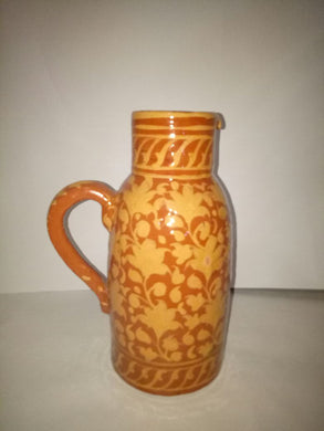 Hand Crafted Jug with Intricate Designs