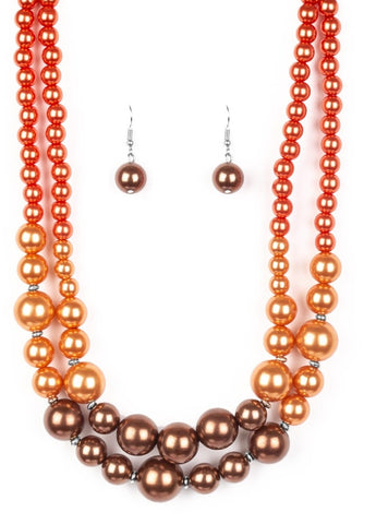 Paparazzi Accessories The More The Modest Multi Necklace Set