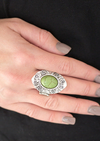 Mega Mother Nature Green Ring
