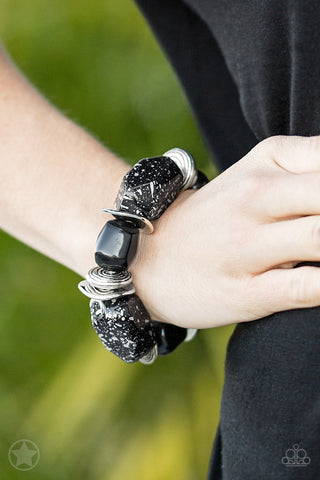 Paparazzi Accessories Glaze of Glory Black Bracelet