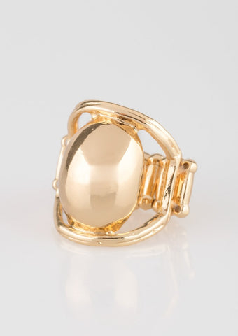Paparazzi Accessories All Shine All The Time Gold Ring