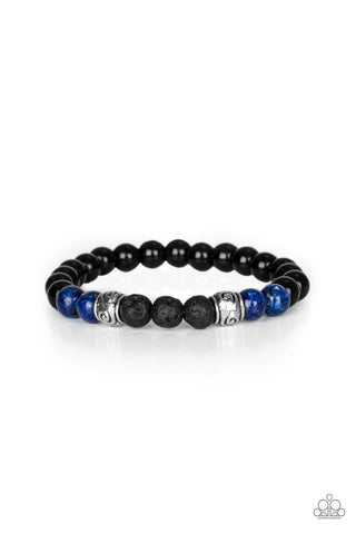 Paparazzi Accessories Proverb Blue Bracelet