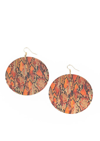 Paparazzi Accessories I'm Only Animal Multi Earrings