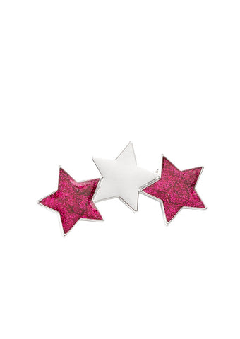 Paparazzi Accessories Dont Get Me STAR-ted! Pink Hair Clip
