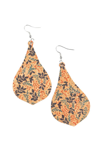 Paparazzi Accessories Cork Coast Multi Earrings