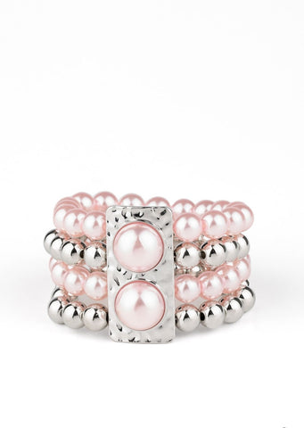 Paparazzi Accessories WEALTH-Conscious Pink Bracelet