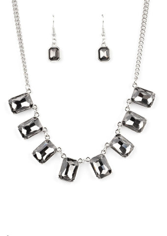 Paparazzi Accessories After Party Access Silver Necklace Set