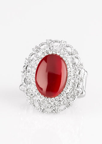 Paparazzi Accessories BAROQUE The Spell Red Ring