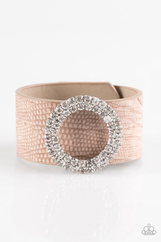Paparazzi Accessories Ring In The Bling Brown Bracelet