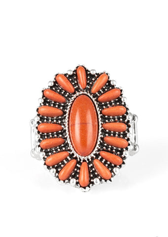 Paparazzi Accessories Cactus Cabana Orange Ring
