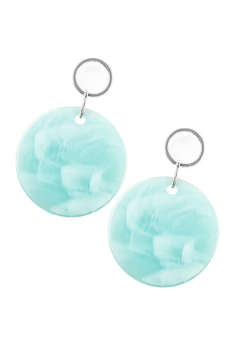 Paparazzi Accessories Beach Bliss Blue Earrings