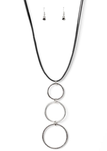 Paparazzi Accessories Curvy Couture Silver Necklace Set
