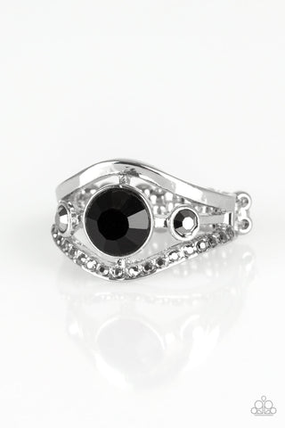 Paparazzi Accessories Rich With Richness Black Ring