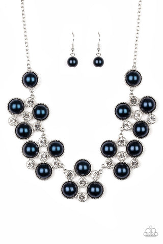 Paparazzi Accessories Night at the Symphony Blue Necklace Set