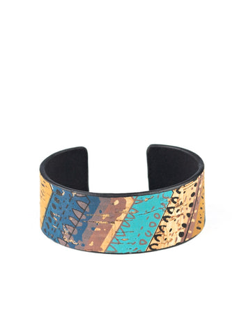 Paparazzi Accessories Come Uncorked Blue Bracelet