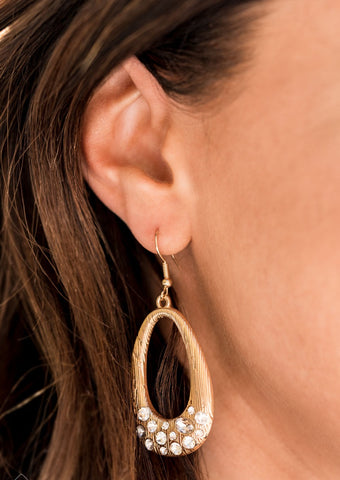 Paparazzi Accessories Better LUXE Next Time Gold Earrings