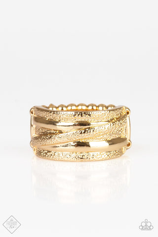Paparazzi Accessories Rise and Shine Gold Ring