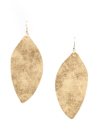 Paparazzi Accessories Serenely Smattered Gold Earrings