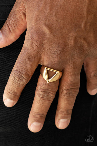 Paparazzi Accessories Trident Gold Ring
