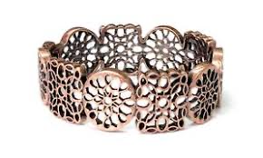 Paparazzi Accessories Mandala Mixer Copper Bracelet