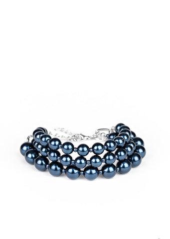 Paparazzi Accessories Total PEARL-fection Blue Bracelet