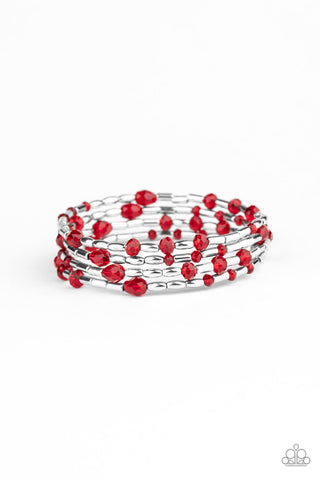 Paparazzi Accessories Regal Remix Red Bracelet