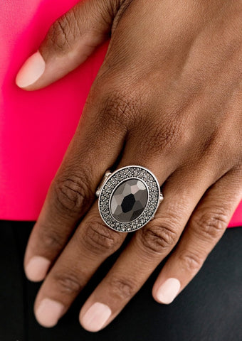 Paparazzi Accessories Castle Lockdown Silver Ring