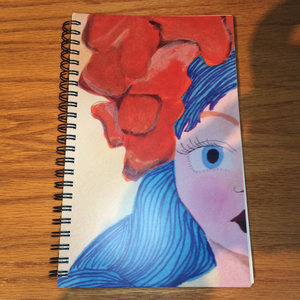 Side Face Notebook