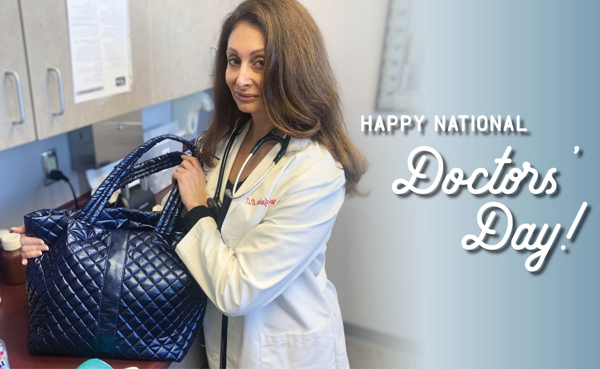 Celebrating National Doctors Day: One Allergen Free, Germ Free Bag at a Time!