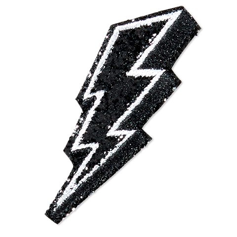Lightning Bolt - Black