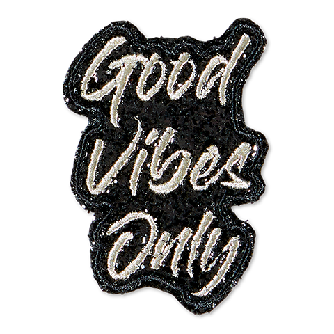 Good Vibes Only - Black/Silver