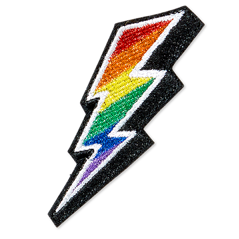 Lightning Bolt - Rainbow