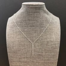 Silver Chic Bar Necklace