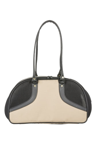 Tan & Black Roxy Bag