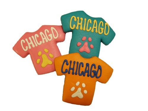 Chicago T-Shirt Cookie (2-Pack)
