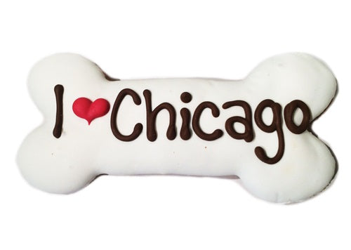 I Love Chicago Bone