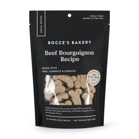 Bocce's Bakery Beef Bourguignon Dog Biscuits