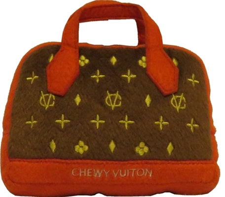 Chewy Vuiton Posh Purse (Red Trim)