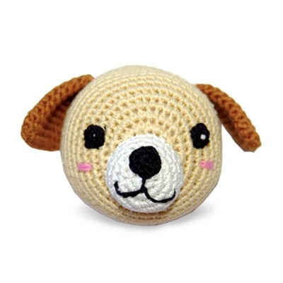 Dog Ball Knit Squeaker