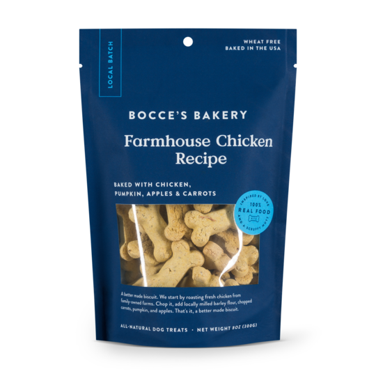 Bocce's Bakery Farmhouse Chicken Dog Biscuits