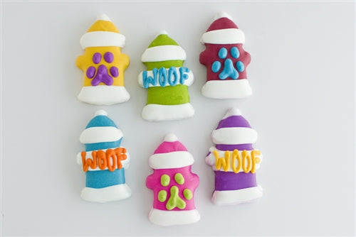 Fire Hydrant Cookies (4-Pack)