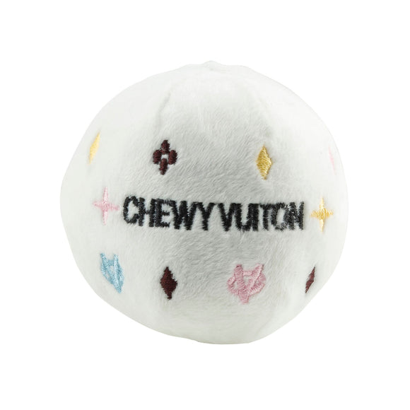 White Chewy Vuiton Ball