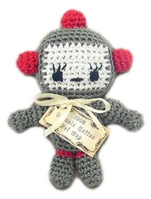 Baby Bot Knit Toy