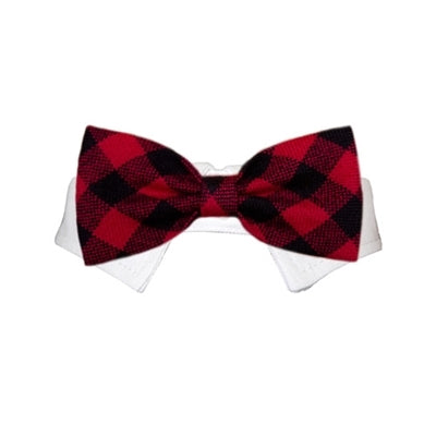 Clark Buffalo Plaid Bow Tie