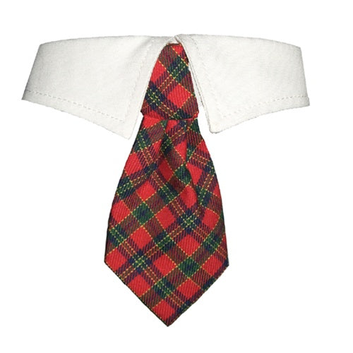 Christmas Plaid Tie